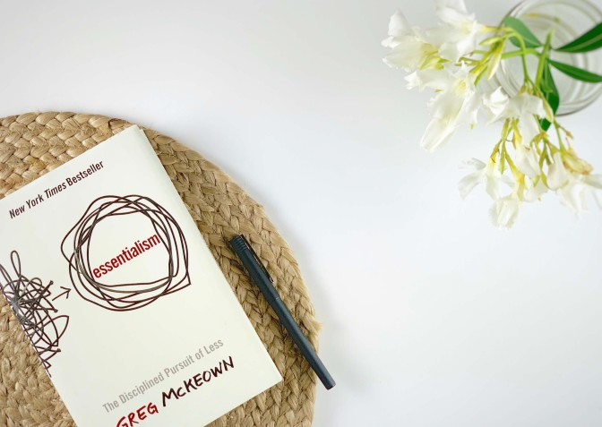 essentialism for a stress free life book